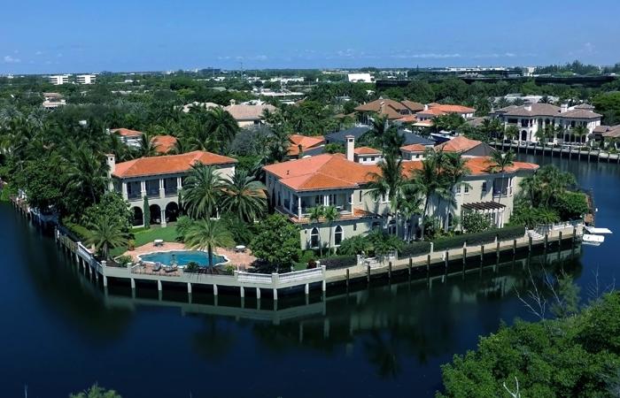 South Florida Waterfront Intracoastal Homes