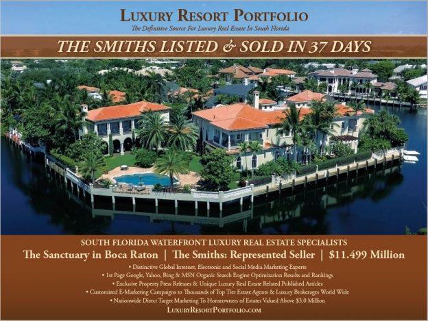 Boca Raton Waterfront Luxury Real Estate Marketing Specialists, Luxury Resort Portfolio