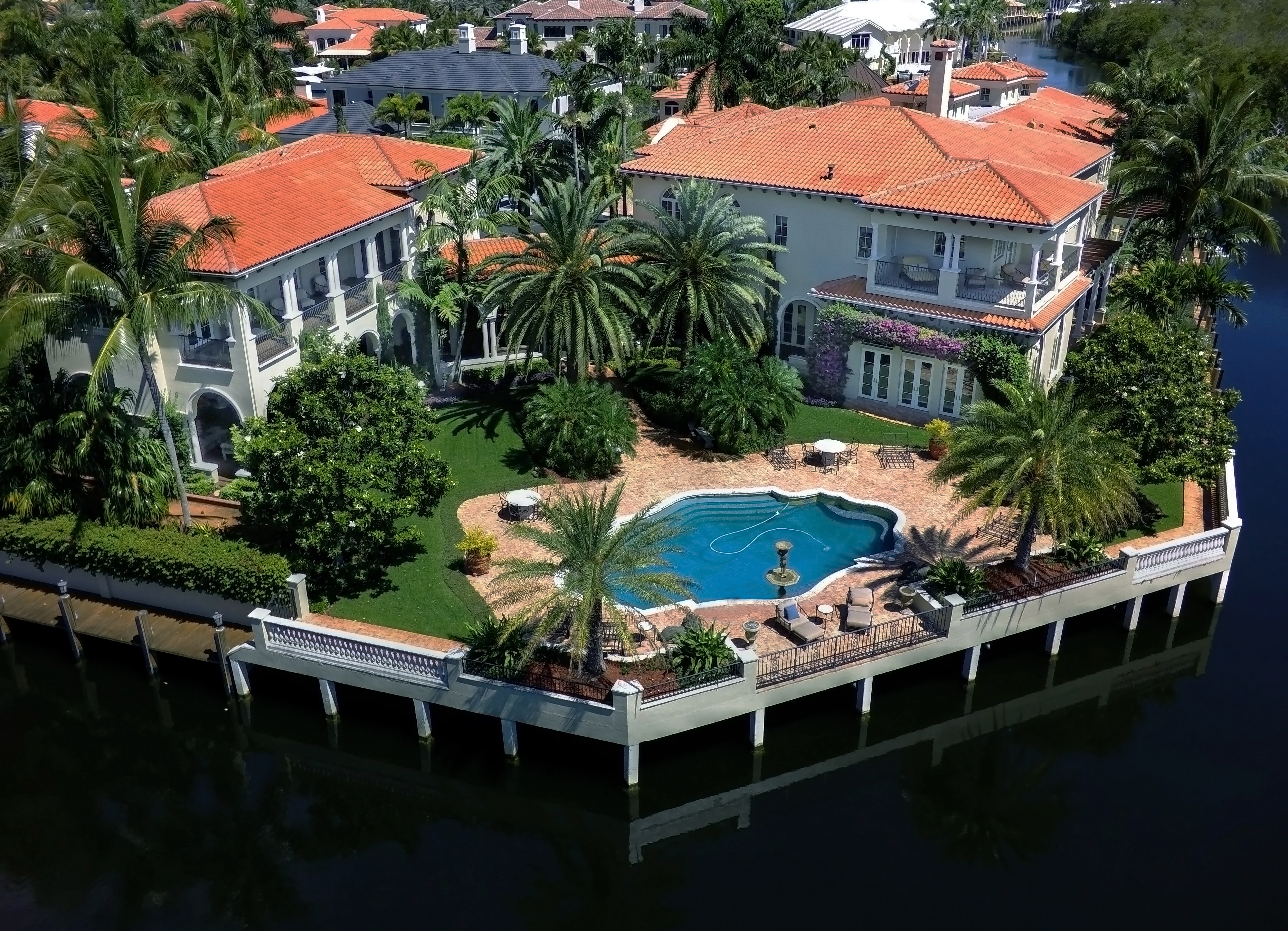 Boca Raton Watrerfront Luxury Real Estate_The Sanctuary Yachting Homes For Sale_799 Sanctuary Drive_Boca Raton Florida 33431