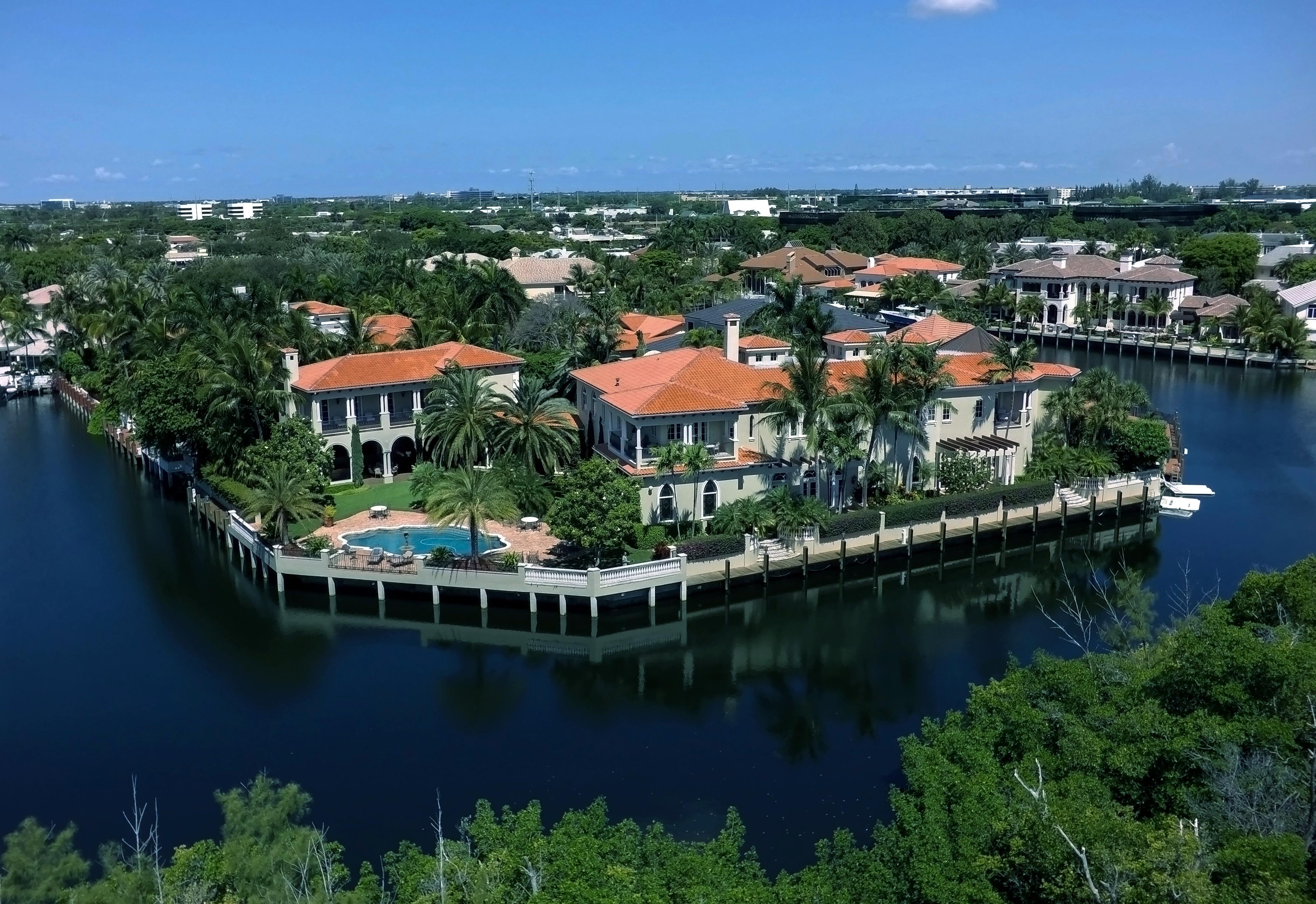 Boca Raton Watrerfront Luxury Real Estate Marketing Specialists_The Sanctuary Yachting Homes For Sale_799 Sanctuary Drive_Boca Raton Florida 33431